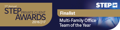 Boston listed as Finalist for STEP Private Client Awards